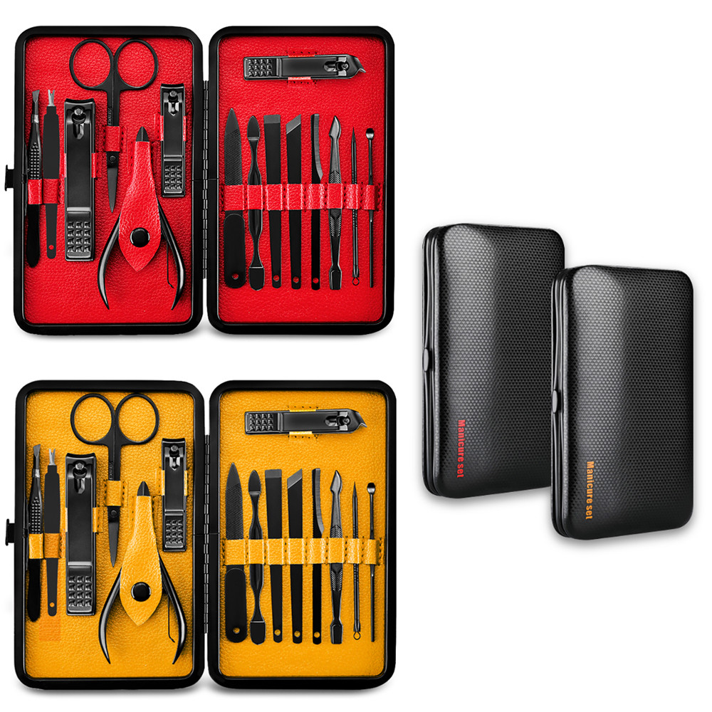 New 15Pcs Stainless Steel Grooming Set 7