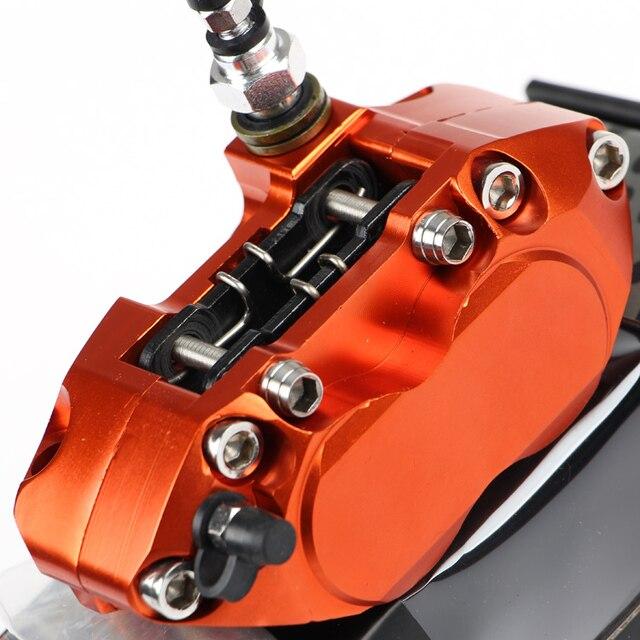 Rpmmotor cnc da motocicleta pinças de freio bomba para yamaha aerox nitro bws 100 jog 50 rr zuma honda dio suzuki aprilia sr