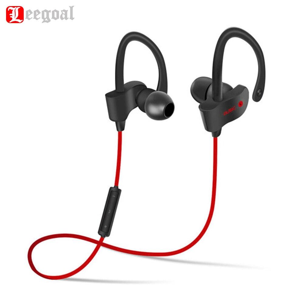 Leegoal 56 s Sport In-Ear Sans Fil Bluetooth Écouteurs Stéréo Écouteurs Casque Basse Écouteurs avec Micro pour iPhone Samsung Téléphone