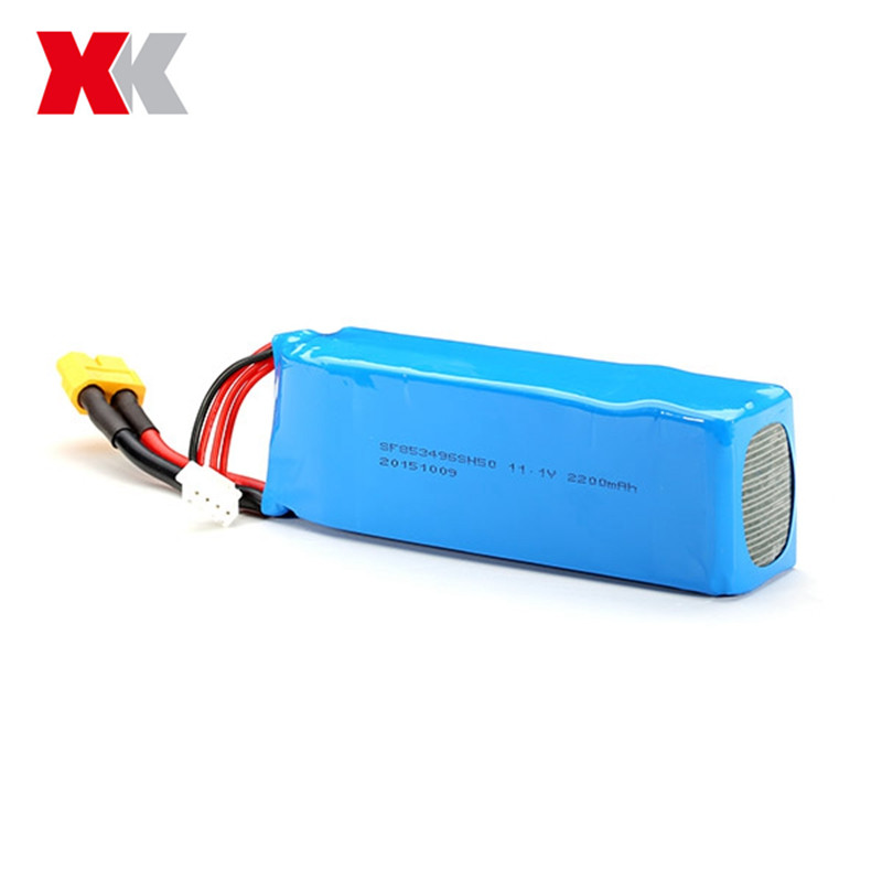 XK STUNT X350 RC Drone Quadcopter Spare Parts 11.1V 2200mAh 30C Lipo Battery Accessories Rechargeable Additional Replacement extra spare 5400mah 11 1v 20c battery fitting for xk detect x380 remote control quadcopter