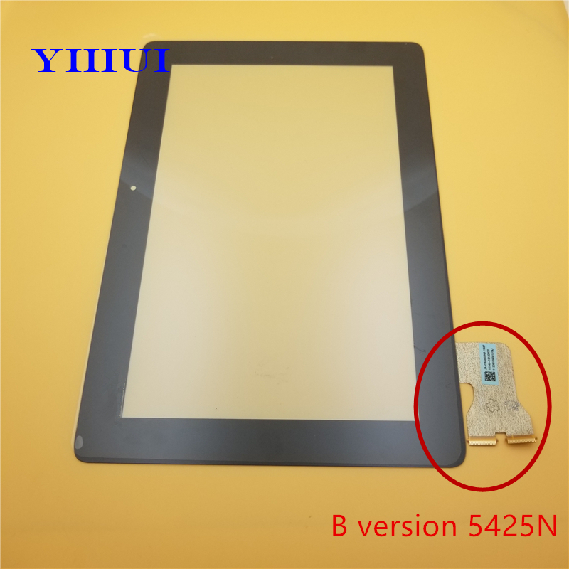 YIHUI For Asus MeMo Pad FHD ME301 ME302 ME302C ME302KL K005 K00A Touch Screen Digitizer Glass Version Parts Black new 10 1 inch version touch screen panel digitizer for asus memo pad fhd 10 me302 me302kl me302c k005 k00a free shipping