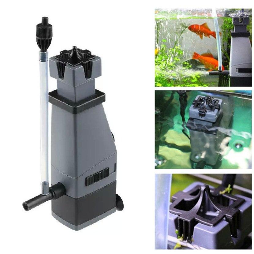3w 300l/h Sunsun Aquarium Surface Protein Skimmer Filter ...