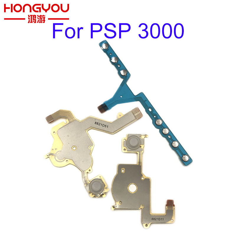 For PSP 3000 Left Right Buttons Function Start Home Volume PCB Keypad Flex Cable For Sony PSP 3000 / PSP 3004 3001 3008 300x
