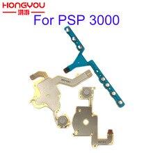 PSP 3000 için Sol Sağ Düğmeleri Fonksiyonlu Başlangıç Ev Ses PCB Tuş Takımı Flex Kablo Sony PSP 3000 için/PSP 3004 3001 3008 300x