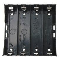 10x caixa de suporte da bateria preto para 4x13.7v 18650 bateria