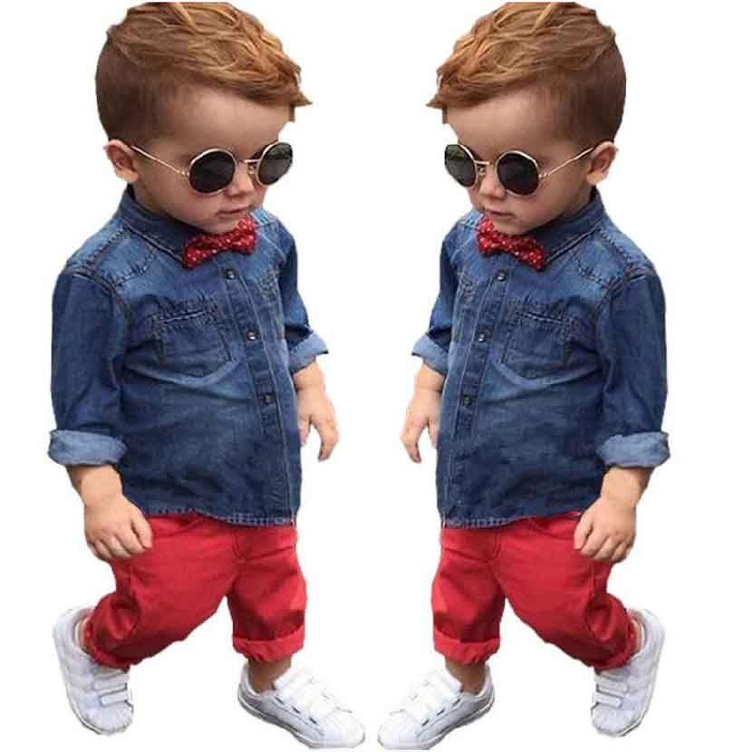 f4c8cbaf0 Retail 2017 Spring children s clothing Sets baby suit kids suit kids ...