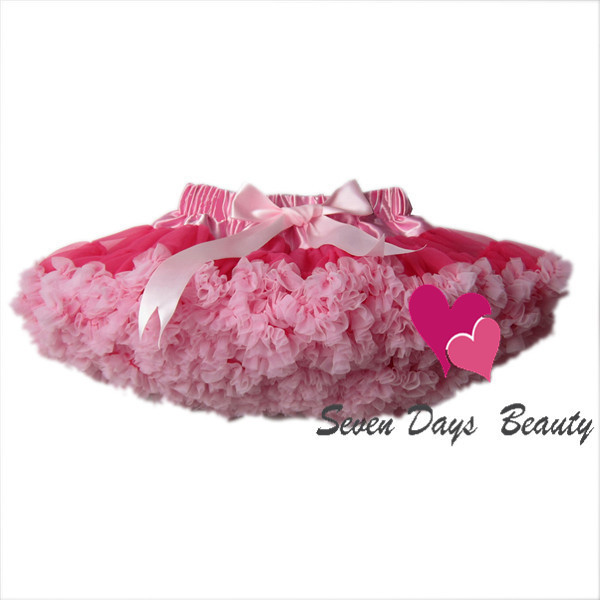 Newest Baby Fluffy Chiffon Pettiskirts Fashion Baby Girl Pettiskirts 21 colors for suitable children ruffle tutu skirt