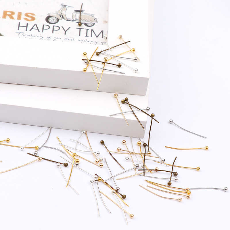 Nowy 20mm różowe złoto i srebro i złoto i antyczny brąz i biały K głowica kulowa ustalenia DIY tworzenia biżuterii biżuteria akcesoria
