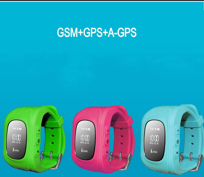 GPS Tracker Watch For Kids SOS Emergency Anti Lost GSM font b Smart b font Mobile