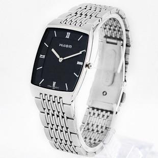Fashion Brand CHINO WILON Top Quality Wristwatches Slim Two -pin Fashion Casual Men Watch Lovers Waterproof Women Lovers Watches