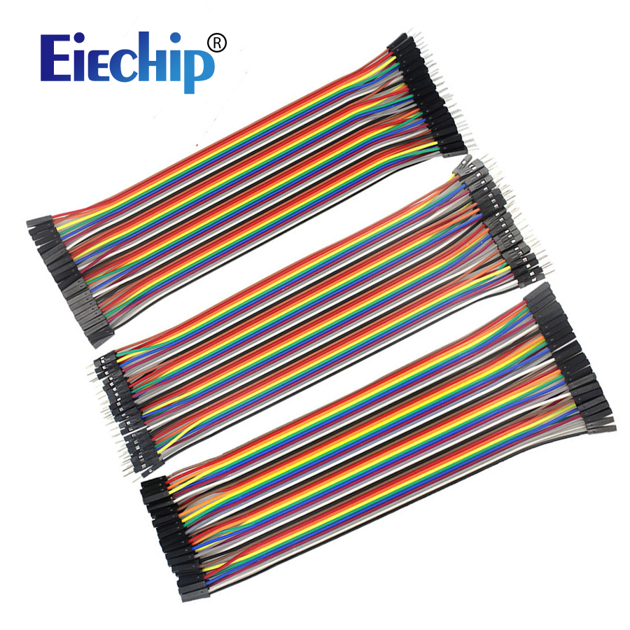 120pcs Dupont Line Kit 20cm Male To Male + Male To Female + Female To Female Jumper Wire Dupont Cable For Arduino Diy Electronic