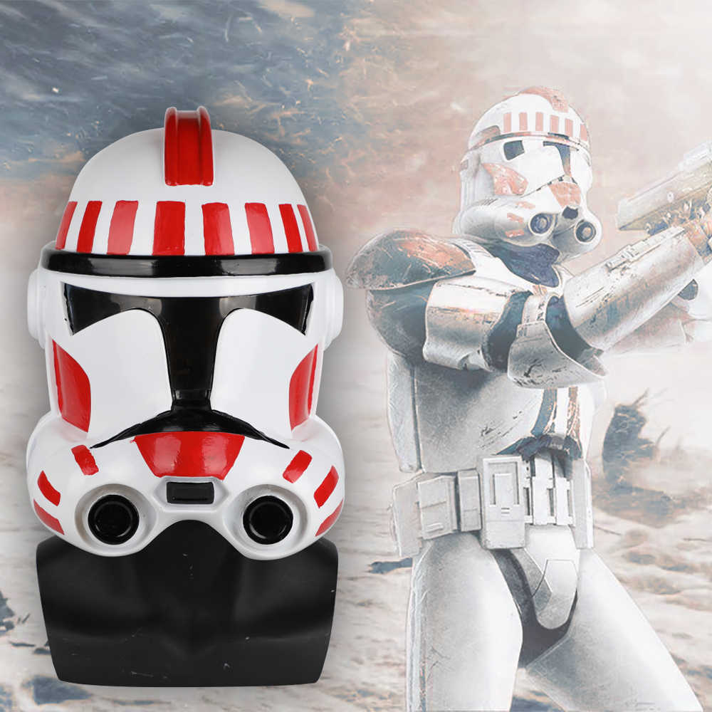 Star Wars Clone Troopers Helmet Star wars Dressed Cosplay Solider Helmet PVC Mask Halloween Props