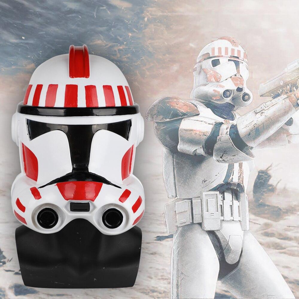 Star Wars Clone Troopers Helmet Star wars Dressed Cosplay Solider Helmet PVC Mask Halloween Props