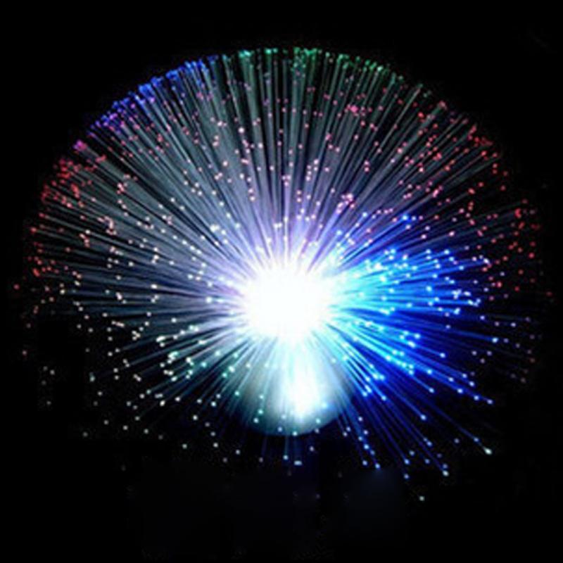 Christmas Decoration LED Light Fiber Optic Lantern Christmas Tree Decorative Automatically Flash Lighting Lamps