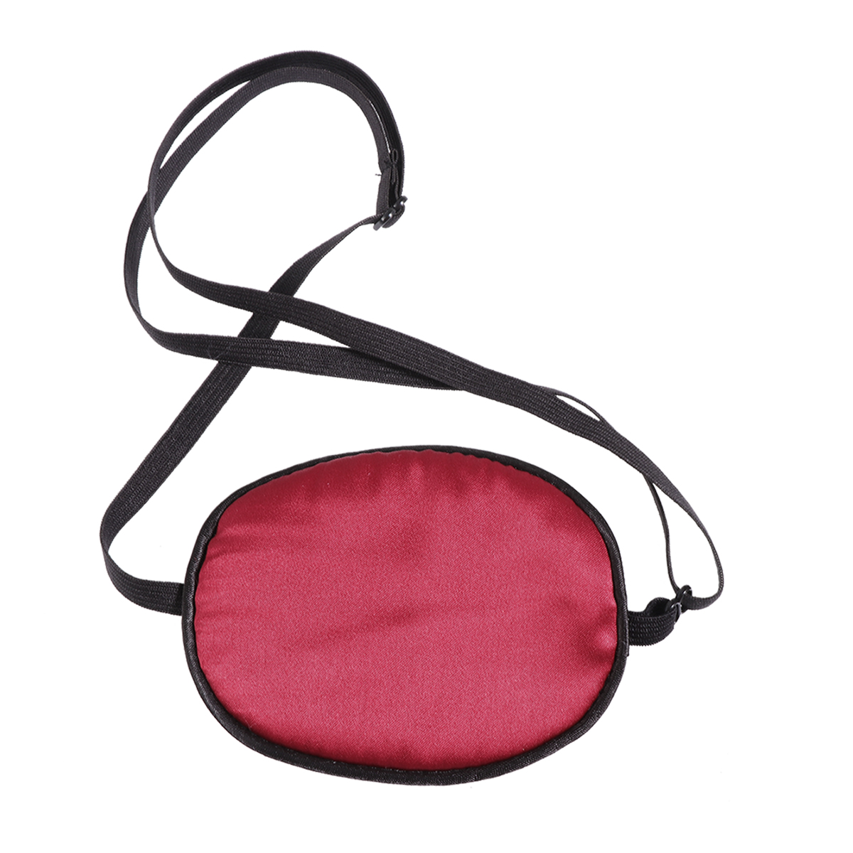 1pc Eye Patch Soft Silk Adjustable Pirate Mask for Lazy Eye Amblyopia Strabismus