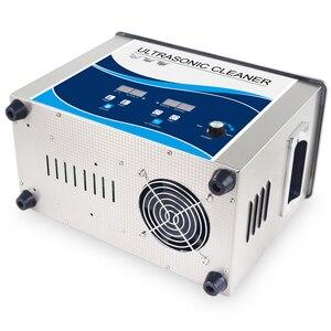 Image 5 - Ultrasone Reiniger 4.5L Draagbare Bad 180 w Power Verstelbare Degas Heater Ultrasound Transducer Servies Lab Prothese Lens Gereedschap