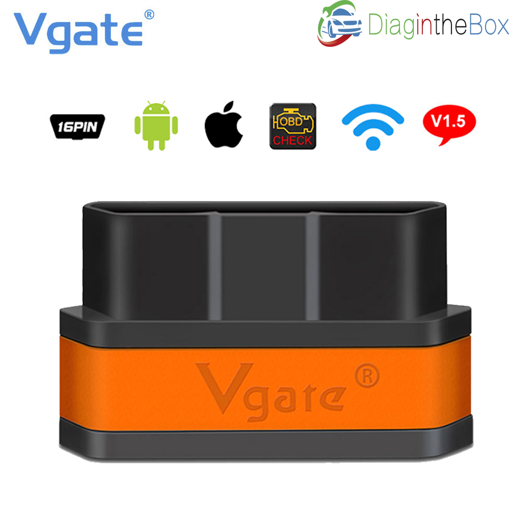 Diagnose Tool Vgate iCar2 Wifi <font><b>OBD2</b></font> <font><b>ELM327</b></font> v2.1 <font><b>Wi</b></font> <font><b>Fi</b></font> OBDII Scanner <font><b>Wi</b></font>-<font><b>Fi</b></font> OBDII Für iPhone iOS Android, 2018 förderung image