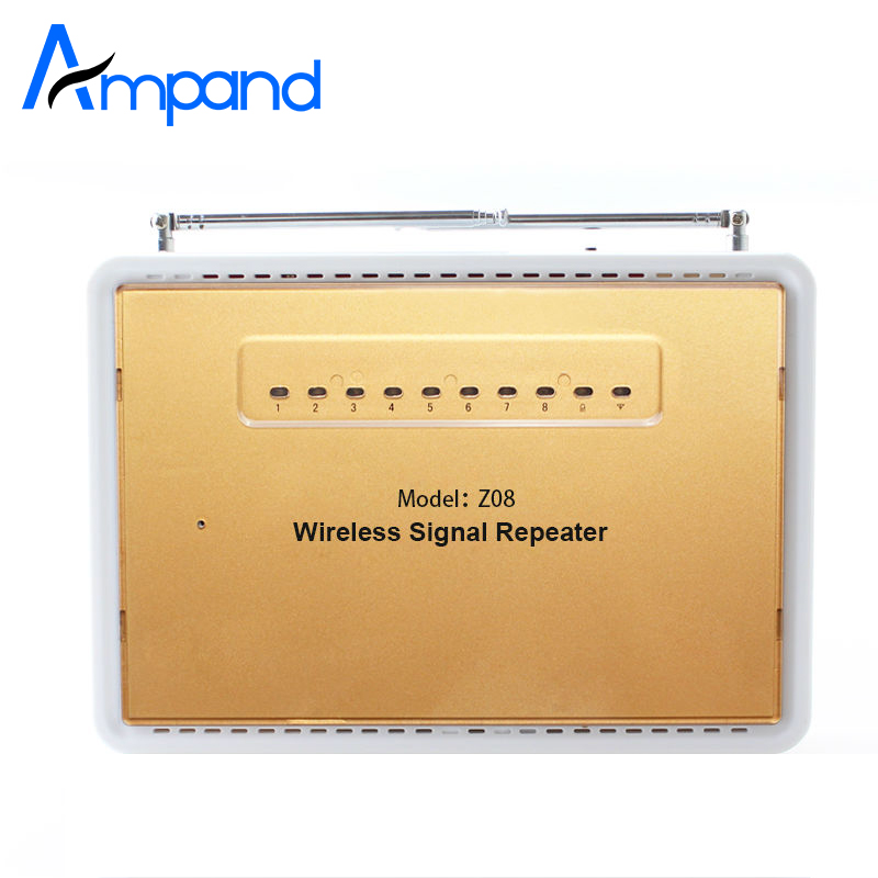 433MHz Wireless Signal Repeater Transmitter amplifier Enhance Sensros Signal Booster Extender For Home Security Alarm System ce link 2020 hdmi repeater signal amplifier extender line driver 40 meters