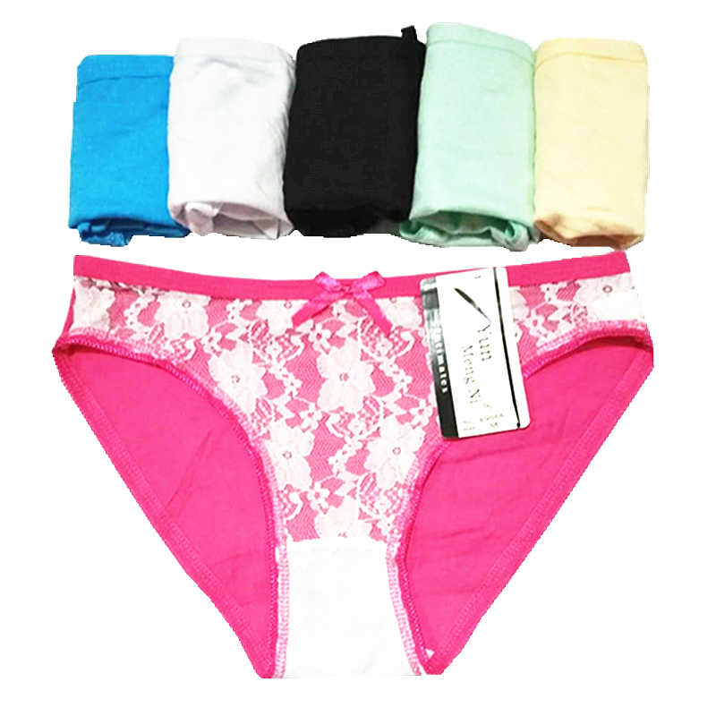 22c5997d5b7f Women Panties Sexy Underwear Pure Color Hollow Out Briefs Ladies Sexy  Cotton briefs for women Free