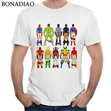 Avengers Infinity War Tees Spiderman Hulk Deadpool Thor Captain America Panther Iron Man T Shirt 2018 New Arrival avengers deadpool iron man black panther hulk captain america black panther thor wallet short wallets fashion student purse gift