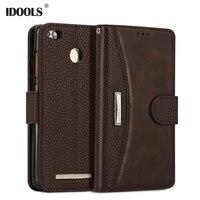 For Xiaomi Redmi 3S 3 Pro Case Dirt Resistant 5 0 Inch Luxury PU Leather Flip