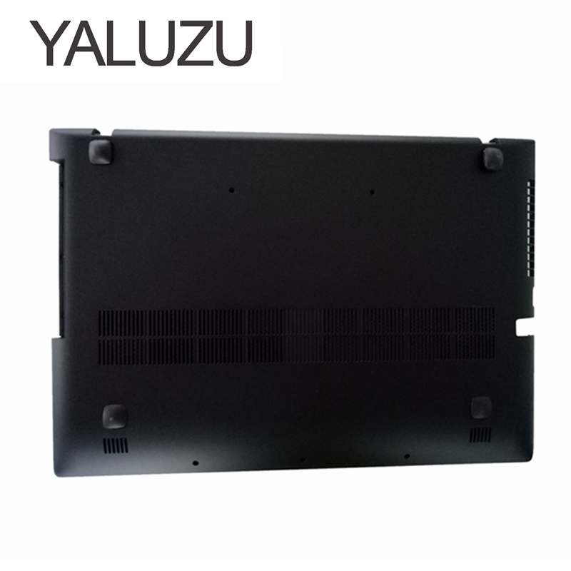 YALUZU New For Lenovo Ideapad Z500 P500 Bottom Case Base Cover AP0SY000B00 laptop replace LOWER CASE new for lenovo g500s g505s laptop bottom case base cover ap0yb000h00 laptop replace cover