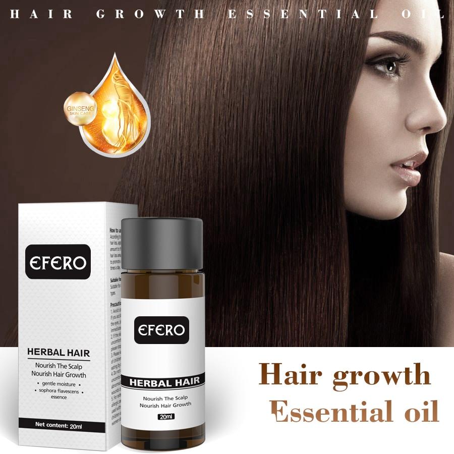 efero Prevent Hair Loss Hair Growth Serum Professional Prevent Baldness Products Powerful Hair Growth Essence Nourish Hair Care