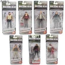 AMC TV Series The Walking Dead Abraham Ford Bungee Walker Rick Grimes The Governor PVC Action Figure Collectible Toy KT1601(China)