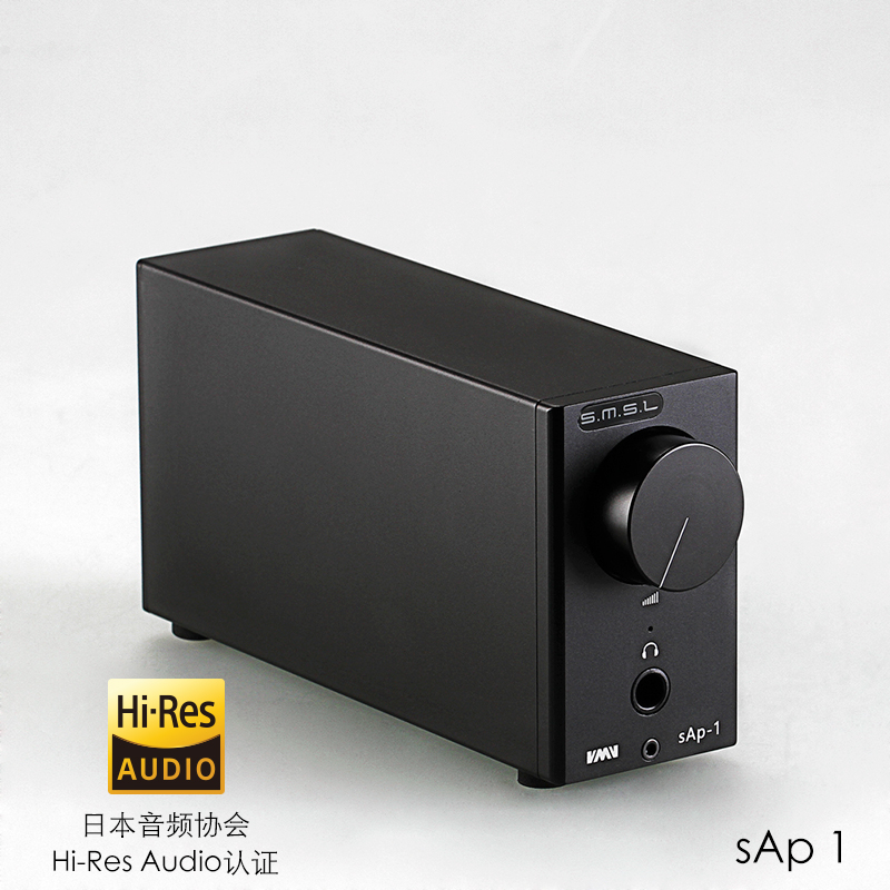 цена на 2017 Newest SMSL SAP-1 TPA6120A2 HIFI Digital Audio Stereo Headphone Amplifie Class A Headphone amp