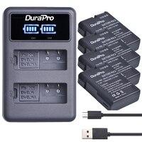 4x EN EL14 EN EL14 EL14A camera Battery+LEDDual Charger for Nikon D5600,D3400 D d5300 d5200 d5100 d3100 d3200 P7800,D7700 D7100