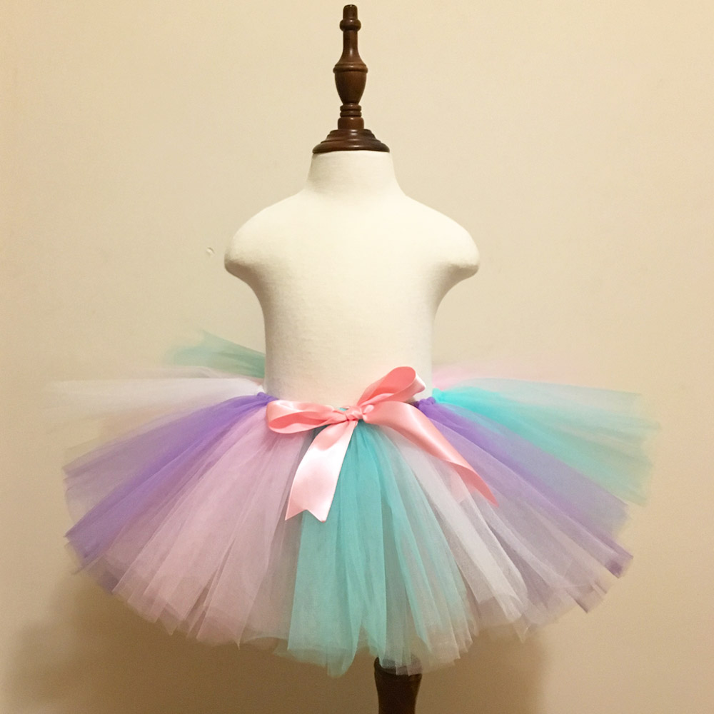 bf60b91692 Chicas unicornio falda Tutu Rosa bebé vestido niñas niños Dance Tutu fiesta  de cumpleaños