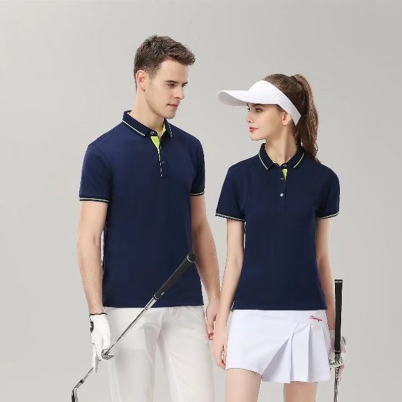 Polo Exercise Polo Summer Polo Short Sleeve Solid Sports Golf Run Fitness Volleyball Man woman universal polo 7928