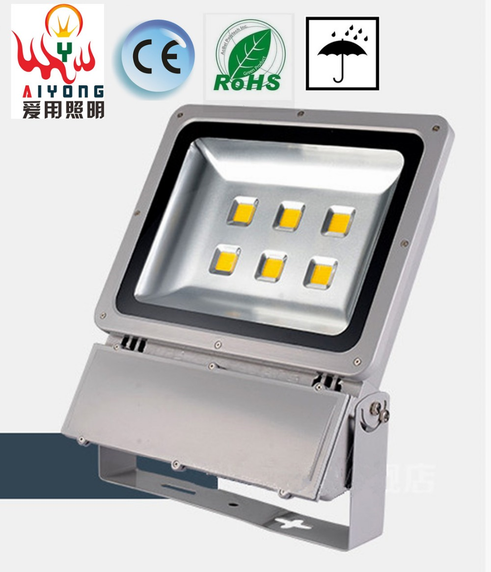 High end LED floodlight outdoor stadium lights super bright waterproof advertising projection lamp 200W 300W
