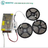 2017 Top Quality SMD5050 LED Strip With DC12V RGB Waterproof LED Light 60leds M With Smart