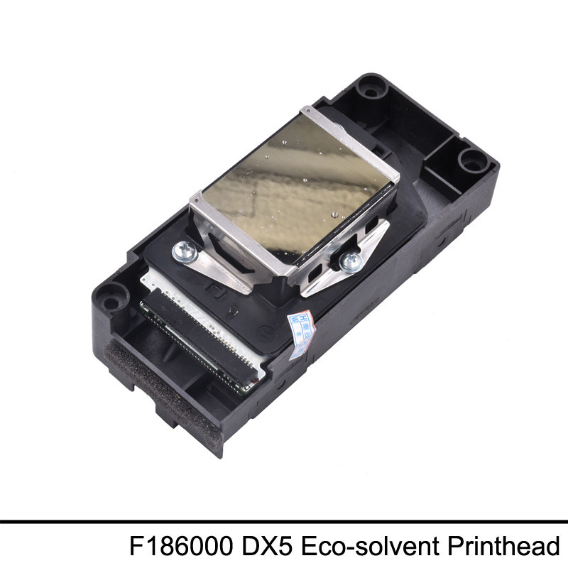 New F186000 Eco Solvent Printhead DX5 Print Head For Epson R1800 R1900 R2000 4880 7880 9800(First Time Locked)