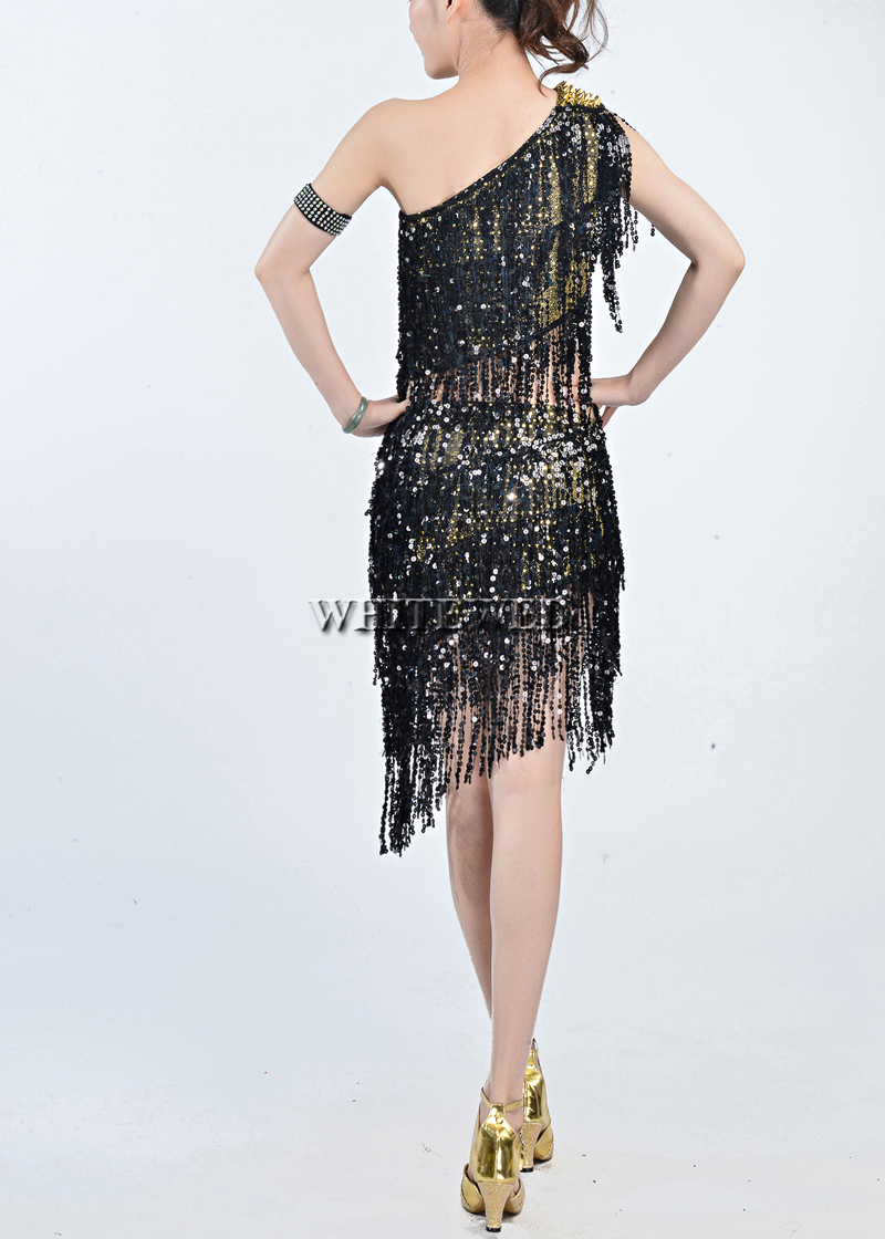 1920s Gatsby Inspired Style Prom Party Outfits Dresses Attire Costumes Rivet Sequin Tel Two Piece 1920 S In Latin From Novelty