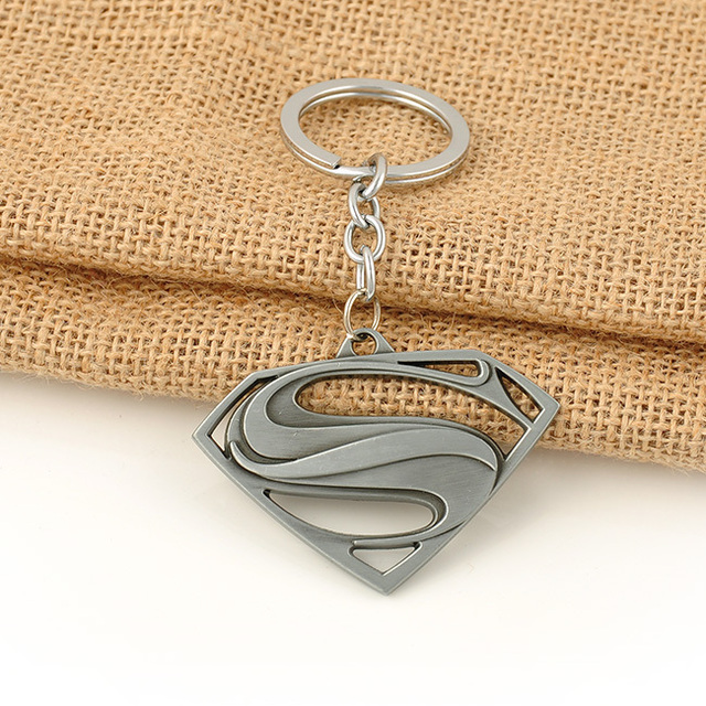 Superman Logo Keychain (3 Colors)