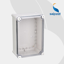 280*190*130 New IP66 Waterproof Plastic Box with Transparent Cover  (DS-AT-2819)