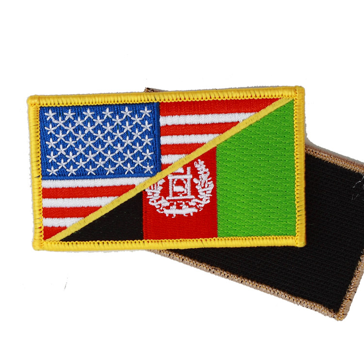 """"""" Usa/afghanistanmw2 """" Military Patch Army Military Badge Patch Armlet/badge/shoulder Patch Back Meticulous Dyeing Processes"""