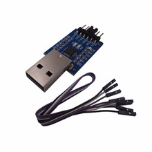 DSD Digital USB to TTL Serial Converter CP2102 with 4 PIN Dupont Cable Compatible with Windows 7,8,10,linux,Mac OSX
