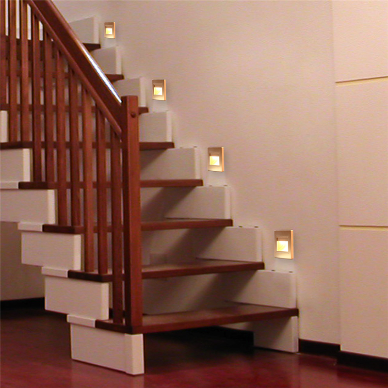 Good 5pcs New Arrivals Top Quality Stairs Lights Recessed Led Stair Light  Arandela Modern 100 240v 1.5w Wall Lights Step Lamp Indoor In Solar Lamps  From Lights ...