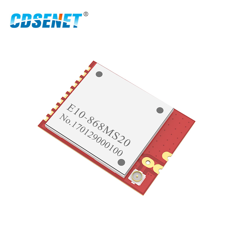 SI4463 868MHz Long Range Transceiver Rf Module E10-868MS20 2500m SMD Stamp Hole Transmitter And Receiver 868 MHz Rf Module