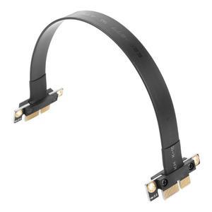 Image 1 - VODOOL высокое качество PCI e PCI Express 36Pin 1X Male to Male Miner видеокарта удлинитель подходит для 1U, 2U шасси Новый