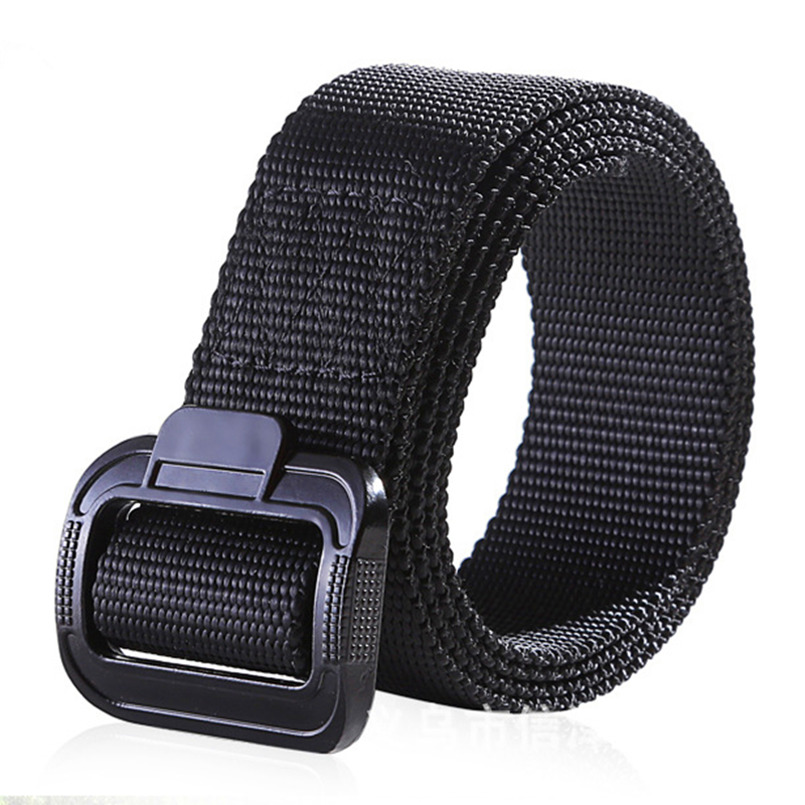 Army Tactical Nylon Belt Men Military Combat Heavy Duty Waistband Male Casual Strap Waist Belt Three Color