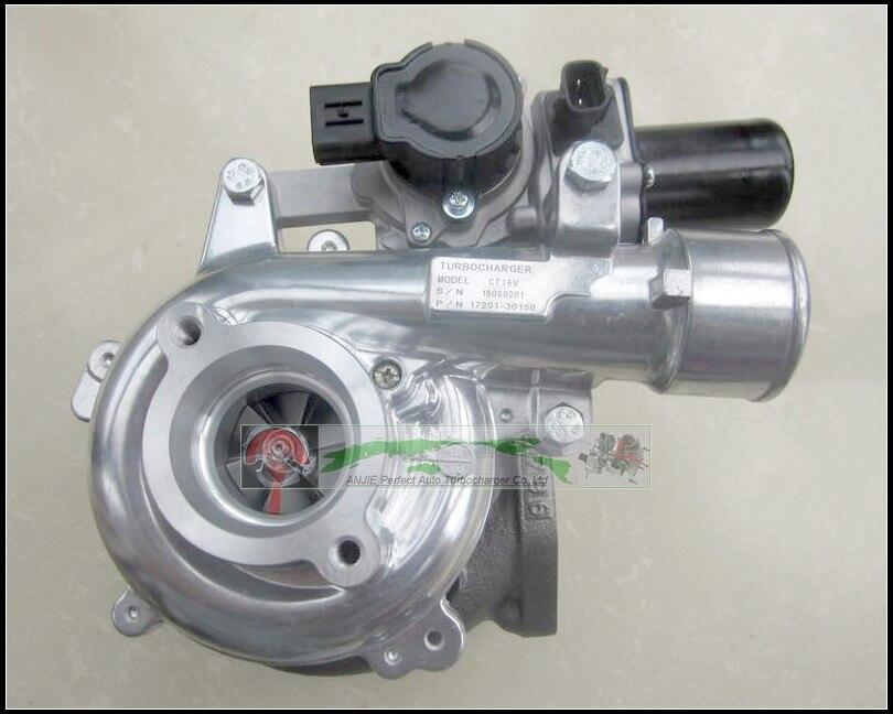 Turbo CT16V 17201-30150 17201-30180 17201-30181 Solenoid Electric Actuator For TOYOTA Landcruiser Hilux KZJ95 D4D 1KD-FTV 3.0L free ship water turbo repair kit rebuild ct16 17201 30080 turbocharger for toyota landcruiser hiace hi lux hilux 2kd 2kd ftv 4wd