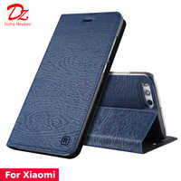 For Xiaomi Mi 6 6X 8 9 SE 5 5X 5S Plus Leather Case for Xiaomi Mi play Note 3 MIX 2 2S Max 2 3 PU Flip cover card slot stand