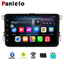 Panlelo 2 Din 8 Inch Car Radio Multimedia Video Player For Volkswagen Android 8.1 GPS Navigation 8 Inch Touch Screen RDS AM/FM joying 10 1 touch screen 2 din android 8 0 car radio px5 octa core 2gb 32gb gps navigation video out stereo audio fm am wifi