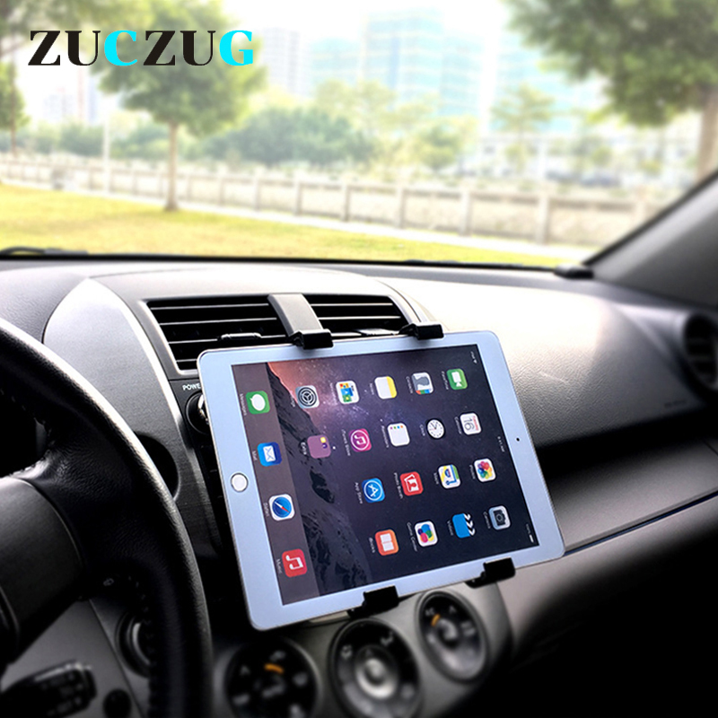 Universal 7 8 9 10 Inch Car Tablet PC Holder Car mount Holder Stand for iPad 2 3 4 5 6 Air 1 2 Tablet Car holder for ipad mini universal tablet holder for 8 10 inch tablet pc stand security holder for ipad 2 3 4 air samsung desktop display support