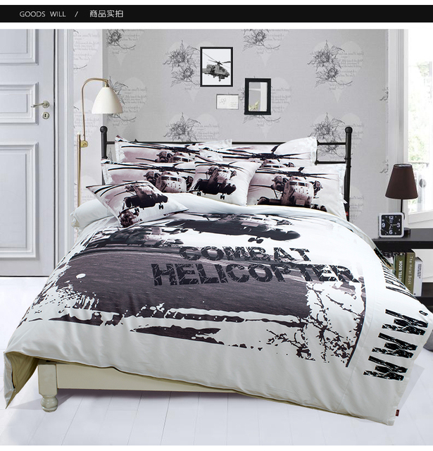 NEW Apache Duvet Cover Boys Cool Kids Bedding Comforter Set Mens Bed Full  Queen King Size