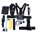 14-em-1 sports action camera acessórios kits para gopro hero 4 3 2 action camera